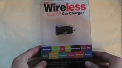 Just Wireless Dual USB Car Charger Overview