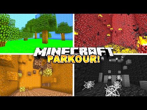 """Minecraft - ELEMENTAL PARKOUR! """"PRANK"""" - w/ THE PACK!"""