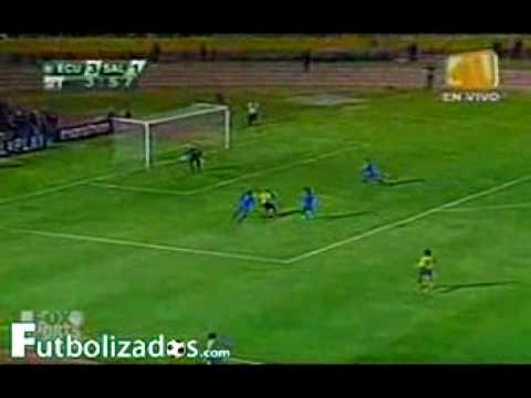 Ecuador 5 El Salvador 1 THE GAME SALVIS FORGOT