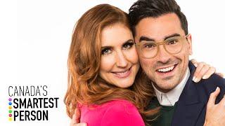 Dan Levy and Jessi Cruickshank Reunite on Canada's Smartest Person | CBC
