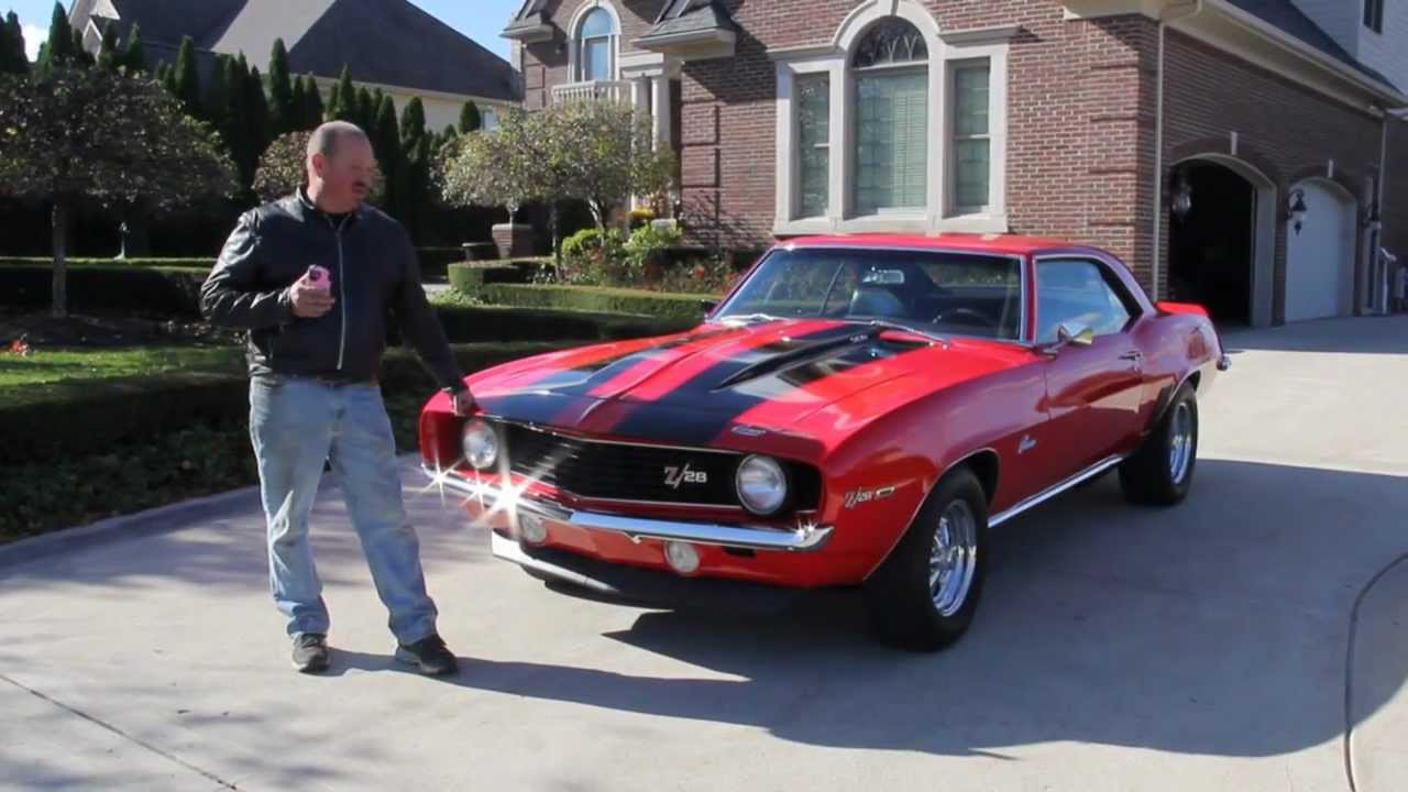 1969 Chevy Camaro Z 28 Clone Classic Muscle Car For Sale In Mi