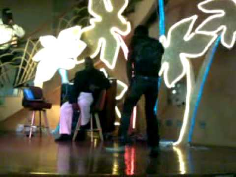 Micheal Jackson Impersonators At tropicana Casino In St. Maarten