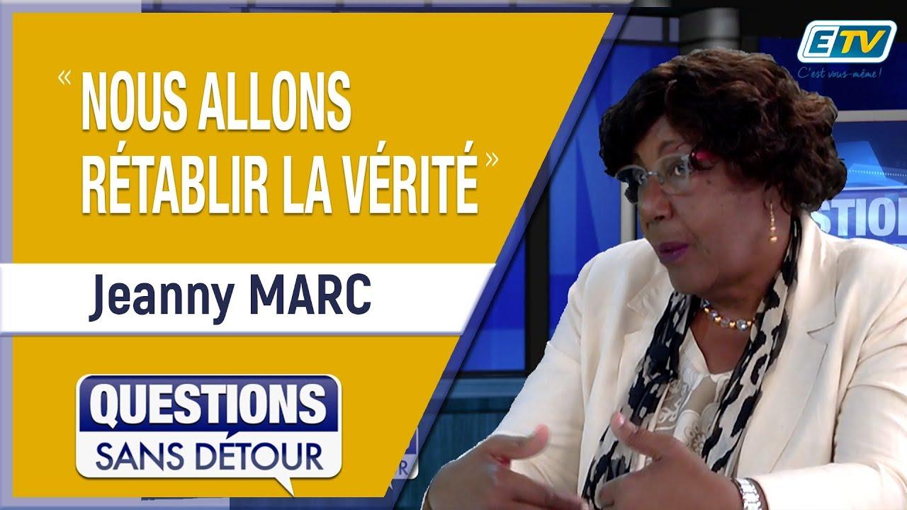 Questions Sans Détour avec Jeanny MARC