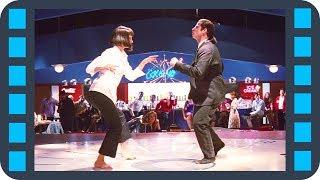 Культовый танец — «Криминальное чтиво» (1994) сцена 5/12 HD