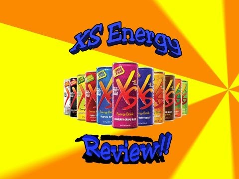 XS Energy Drink Review! - YouTube