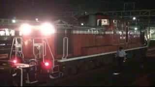 DD51形ディーゼル機関車 機関始動