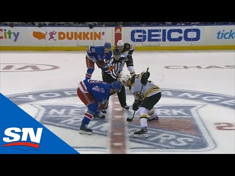 All 5 Minutes Of The Electric 3-on-3 OT Between Rangers & Bruins