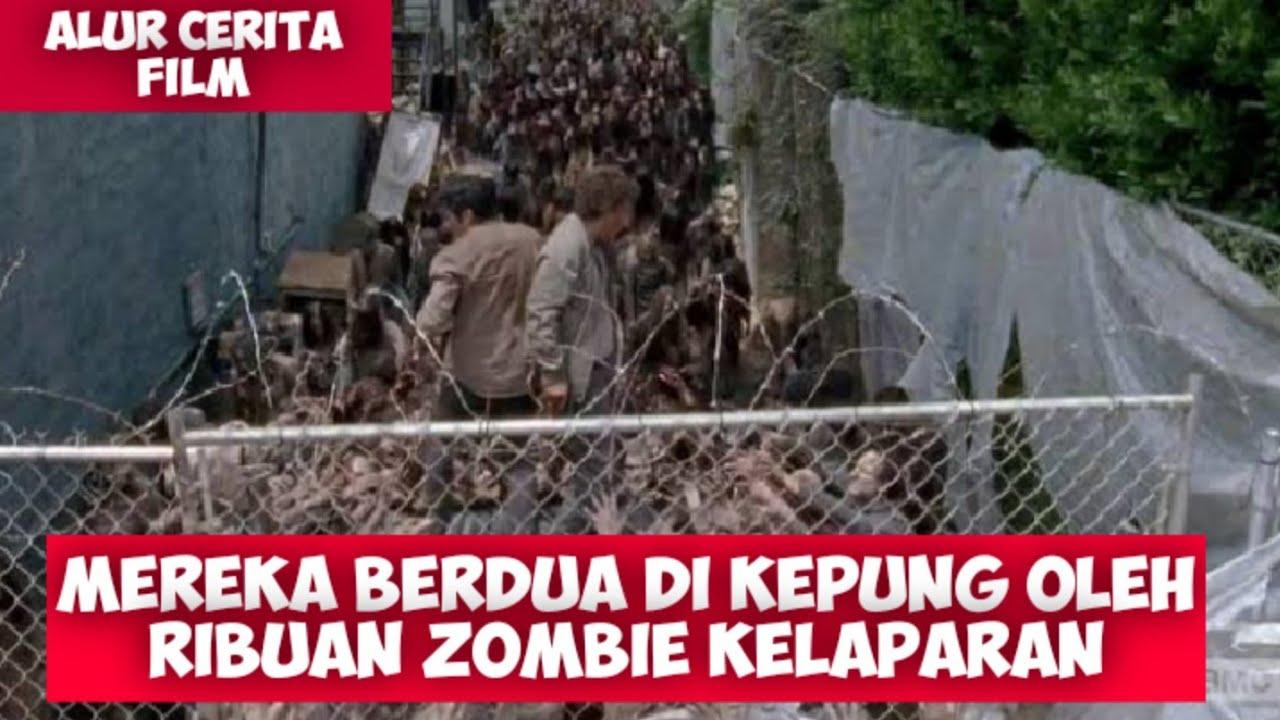 Download DIKEPUNG RIBUAN ZOMBIE YANG LAPAR || ALUR CERITA FILM THE WALKING DEAD S6 EPS 3,4 & 5