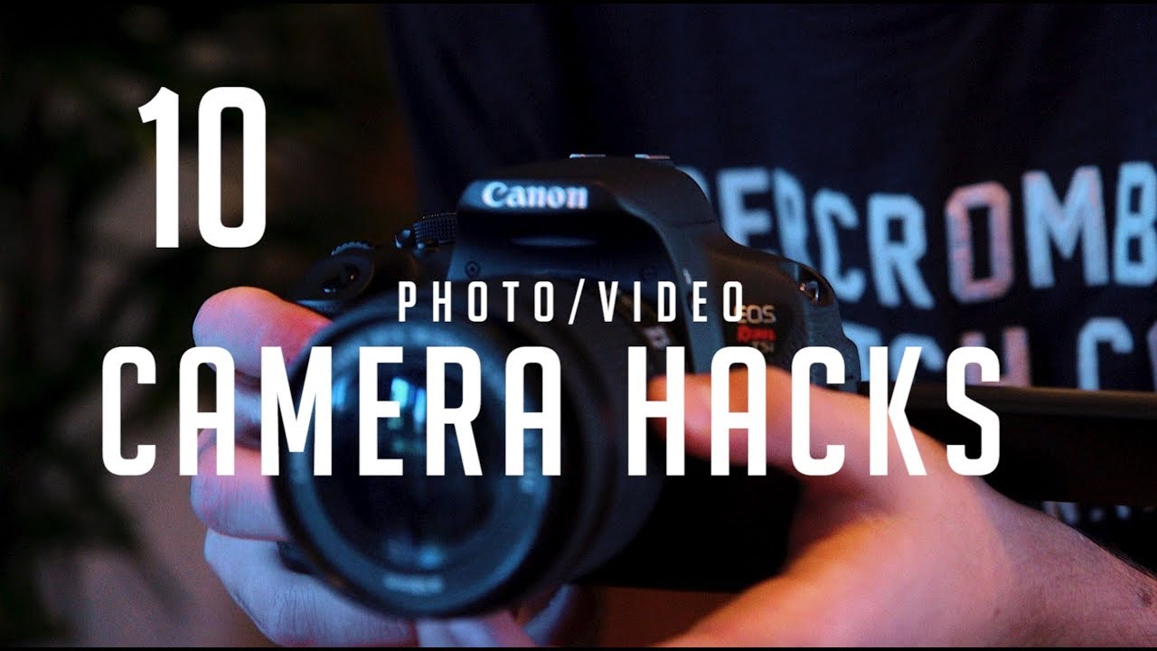 Photo Hacks With Everyday Objects Using >> 10 Diy Photography Tips Using Household Objects Camera Hacks Youtube