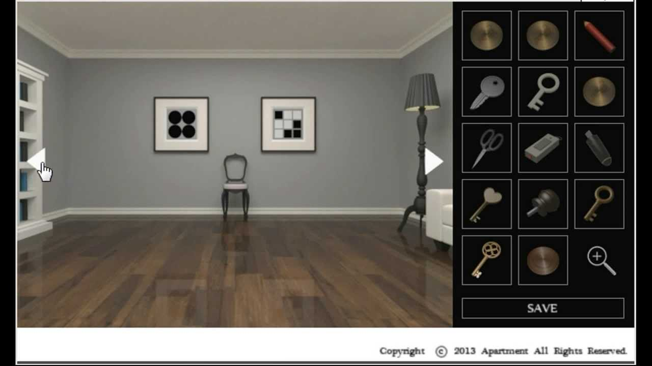 Grey Room Part - 24: Kuroneko - Apartment #101 - Grey Room Escape (two Ends) Walkthrough
