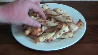 Cheese And Bacon Twists - Recipe