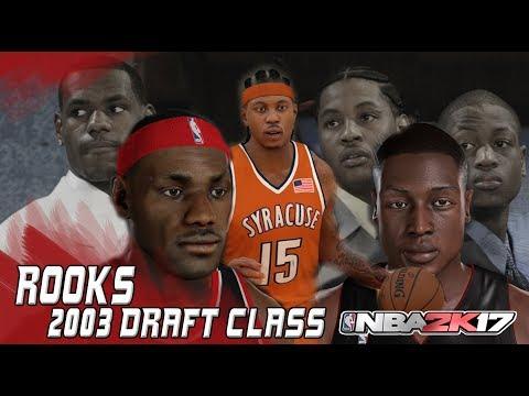 2K Rooks:  Episode 6 - 2003 Draft class PC