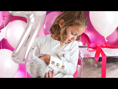 ДЕНЬ РОЖДЕНИЯ АМЕЛЬКИ! Будет ли сюрприз на 7 лет? Что за подарок приготовили родители?