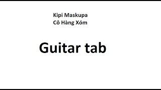Hướng Dẫn Guitar Tab - Cô Hàng Xóm