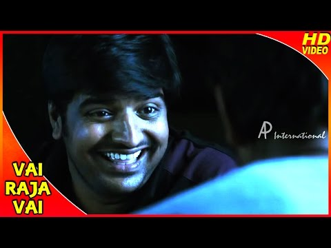 Vai Raja Vai Tamil Movie | Scenes | Comedy | Gautham And Sathish Talk To Plants | Priya Anand