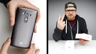 LG G4 Unboxing & Giveaway