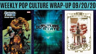 Weekly Pop Culture Wrap-Up 09/20/20
