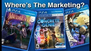 Why Doesn't Sony Advertise Their Smaller Exclusives?