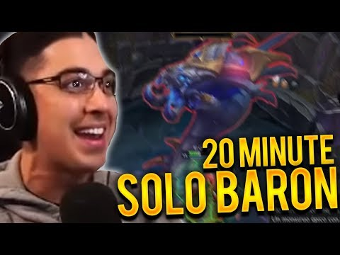 DYR TOP VS SHEN | 20 MINUTE SOLO BARON W/ RAGEBLADE BUILD!! - Trick2g