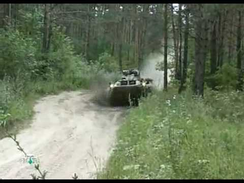 BTR-90 Russian amphibious infantry fighting vehicle