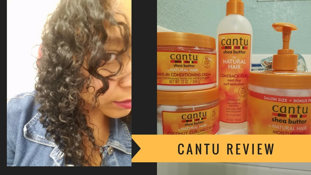 Cantu For Natural Hair Products Review