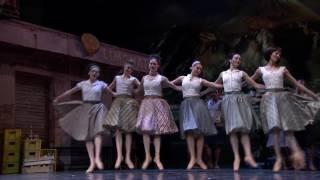 Napoli Act 1 Pas de deux & Ballabile - Alexandra Lo Sardo, Alban Lendorf, Royal Danish Ballet