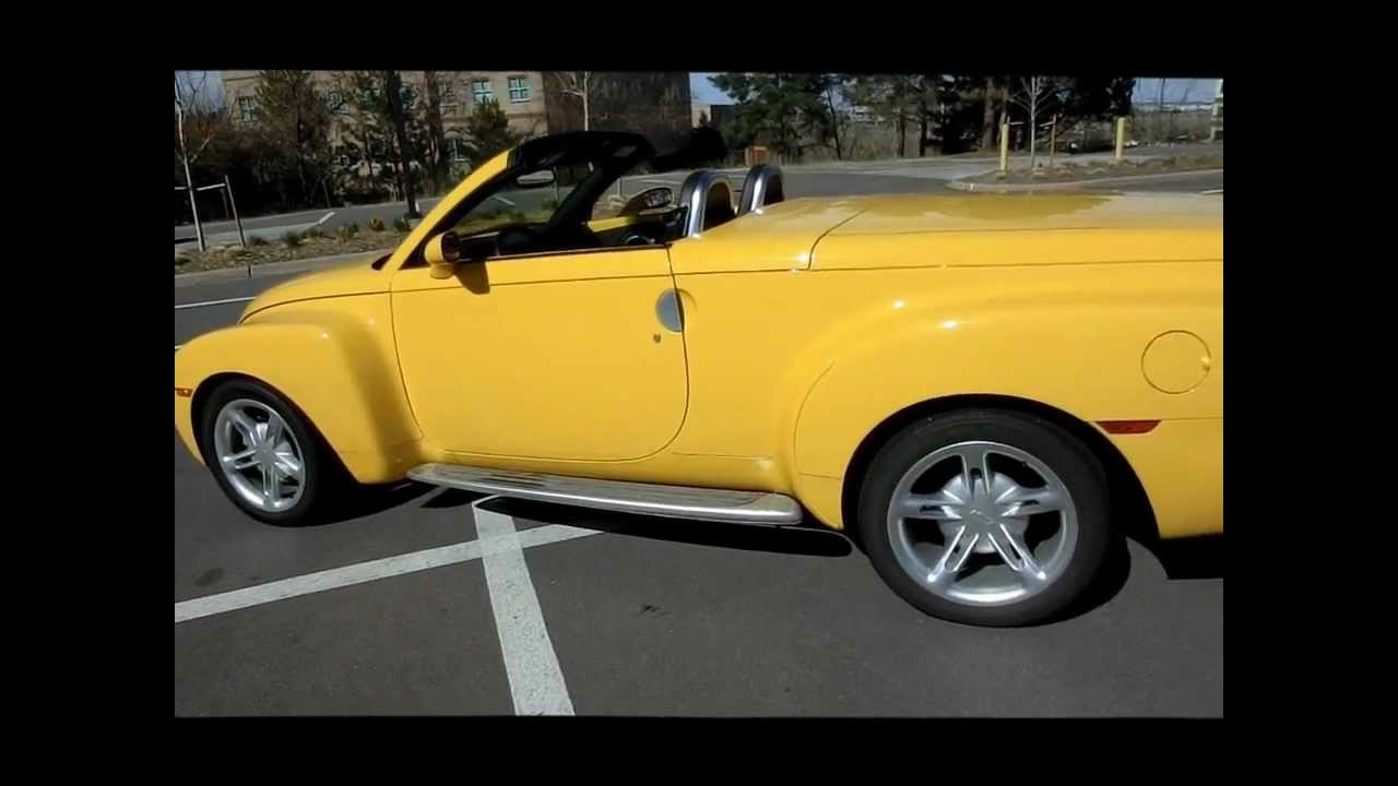 All Chevy 2006 chevrolet ssr for sale : For Sale Chevrolet SSR, Chevy SS-R from NewCarsColorado.com - YouTube