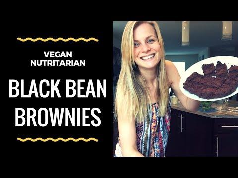 Black Bean Brownies | Nutritarian