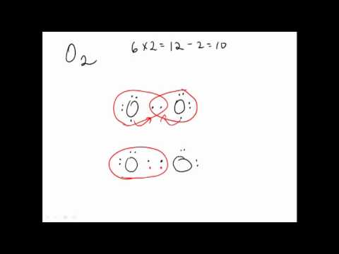 4B. Drawing Lewis Diagrams for Diatomic Elements - YouTube