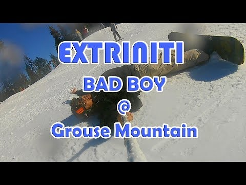 "EXTRINITI ""BAD BOY Snowboarding at Grouse Mountain"" (Dec 7, 2017 - 1080P HD)"
