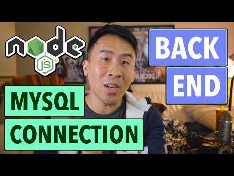 NodeJS REST API: Connecting to MySQL (Ep 2)