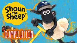 Petualangan di luar peternakan 1 | Kompilasi | Shaun the Sheep