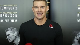 Stephen 'Wonderboy' Thompson relaxed ahead of UFC 209, second chance at belt