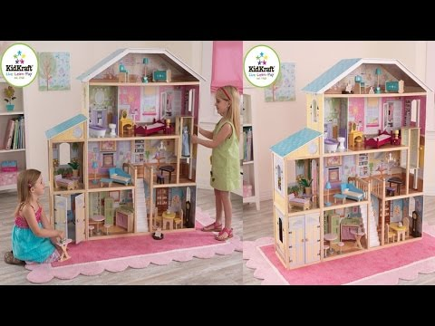 Kidkraft Majestic Mansion Dollhouse For Your Little Girl With 34