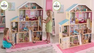 Kidkraft Majestic Mansion Dollhouse For Your Little Girl With 34 Furniture Pieces And Accessories