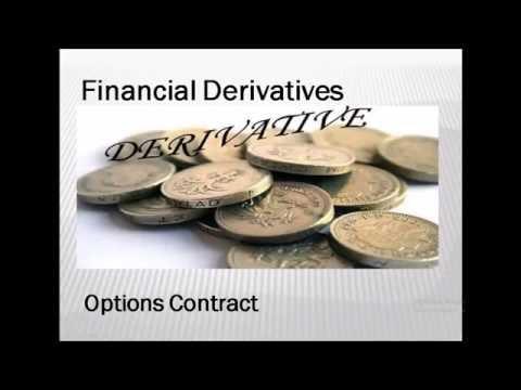 Financial Derivatives - Weapons of Mass Destruction Part II- Options Contract