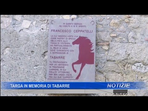 Targa in memoria di Tabarre