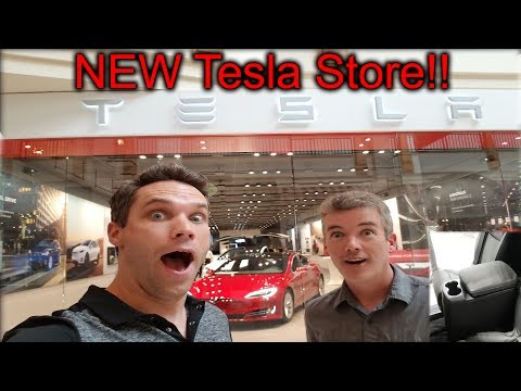 New Tesla Store: Park Meadows Mall! Plus New Model X Features!!