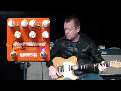 Wampler Pedals: HOT WIRED V2 (Telecaster to Laney L50H)