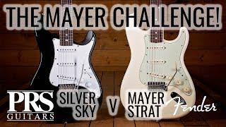 Download John Mayer Challenge! Fender John Mayer Strat v PRS Silver Sky