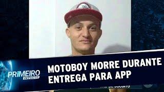 Motoboy de aplicativo morre durante entrega   Primeiro Impacto (11/07/19)