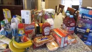Target Grocery Haul Sunday January 18, 2015 Thumbnail