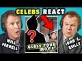 Celebs React To Guess That Movie Challenge (Ft. Will Ferrell And John C. Reilly)
