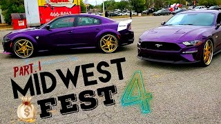 "MIDWEST FEST 4 PART 1 "" GOLD RIMS EVERYWHERE """