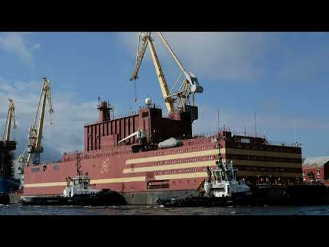 Russia's First-Floating Nuclear Power Plant Is Headed Toward the Bering Strait