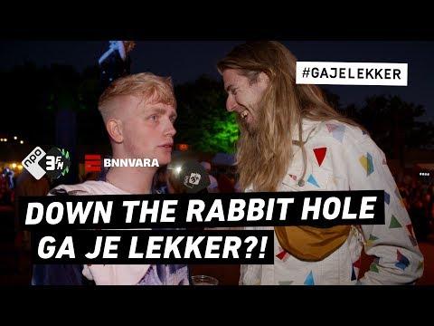 GAAT JOOST LEKKER OP DOWN THE RABBIT HOLE?  GA JE LEKKER?  NPO 3FM
