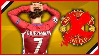 ANTOINE GRIEZMANN U-TURN, MAN UNITED TRANSFER OFF? | MUFC NEWS