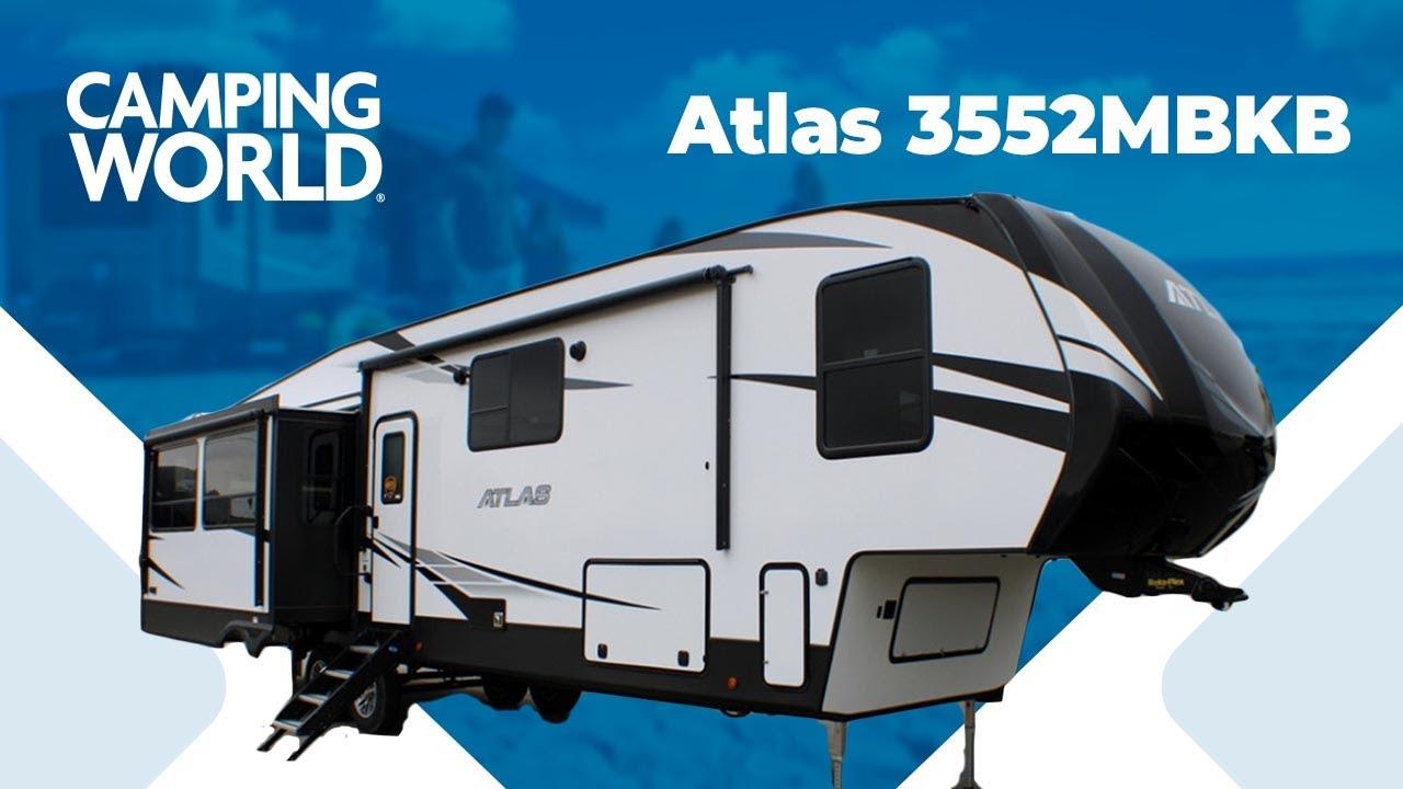 2020 Dutchmen Atlas 3552mbkb 5th Wheel Rv Review Camping World Youtube