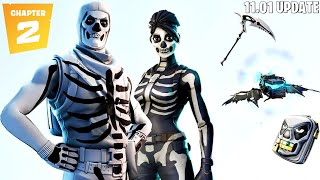 Fortnite Chapter 2 Update 11.01 + New Skull Trooper Style! (Fortnite New Update)
