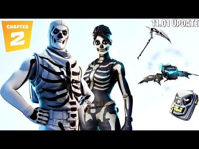 Fortnite Chapter 2 Update 11.01 + New Skull Trooper Style! (Fortnite New Update)